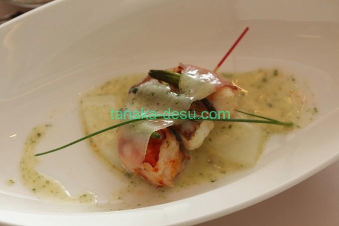 堂島ホテルの魚料理