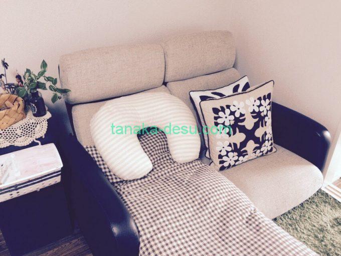授乳場所のソファー