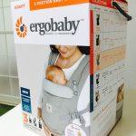 エルゴアダプトの使い方と感想。新生児インサート不要で便利!