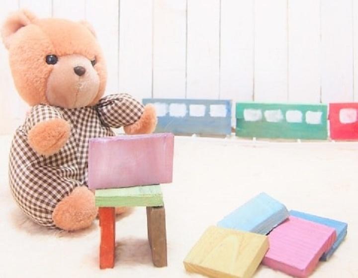 くまさんとおもちゃ