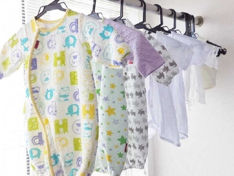 新生児の衣類