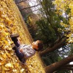 赤ちゃんの秋の服装。外出時や部屋着や寝る時に息子が着ていた服