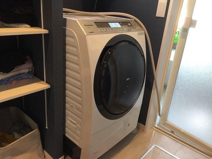 パナソニックドラム式の洗濯機