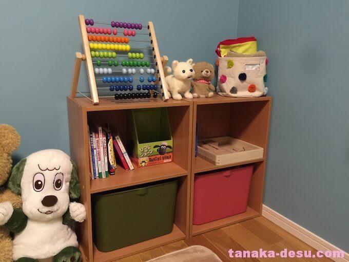 幼児部屋の収納