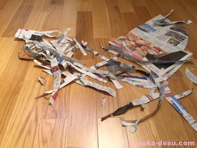 紙をビリビリに破くおもちゃ